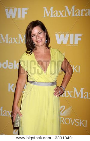 LOS ANGELES - JUN 12:  Marcia Gay Harden arrives at the City of Hope's Music And Entertainment Industry Group Honors Bob Pittman Event at Beverly Hilton Hotel on June 12, 2012 in Beverly Hills, CA