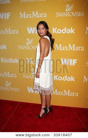 LOS ANGELES - JUN 12:  Jamie Chung arrives at the City of Hope's Music And Entertainment Industry Group Honors Bob Pittman Event at Beverly Hilton Hotel on June 12, 2012 in Beverly Hills, CA