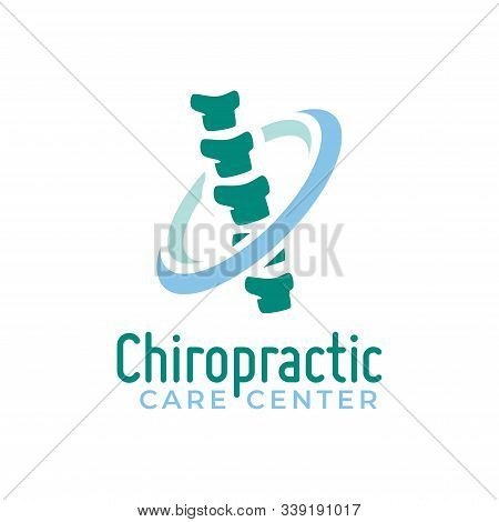 Chiropractic Logo Vector, Spine Health Care Medical Symbol Or Icon, Physiotherapy Logo.