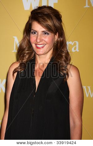 LOS ANGELES - JUN 12:  Nia Vardalos arrives at the City of Hope's Music And Entertainment Industry Group Honors Bob Pittman Event at Beverly Hilton Hotel on June 12, 2012 in Beverly Hills, CA