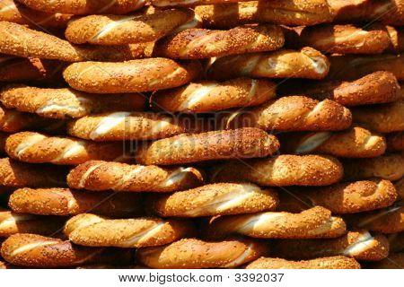Turkish pretzel