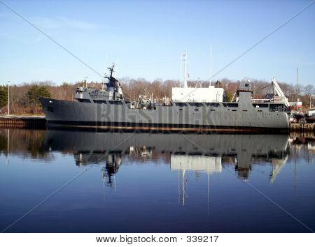 Warship Reflection
