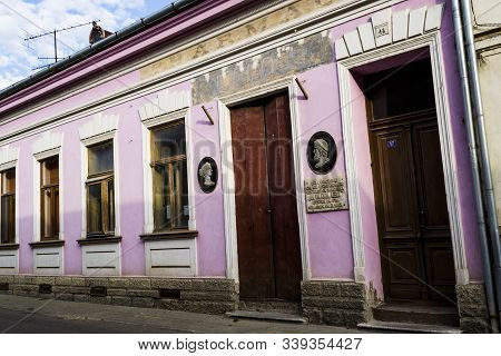 Oravita, Romania - September 09, 2019: First Mining Pharmacy In The Territory Of Romania, Was Founde