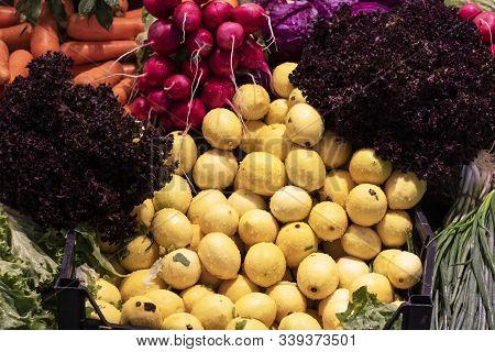 Dietetic Set Of Paleo Diet Of Various Vegetables