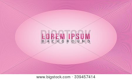 Lovable Pinky Frame Concept, Beautiful Abstract Wave Line Background Design Template, Abstract Blend