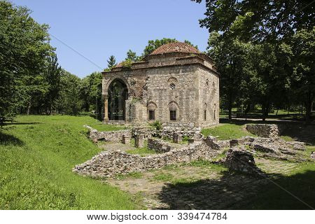 Bali-beg Medieval Mosque At Fortress And Park In City Of Nis, Serbia