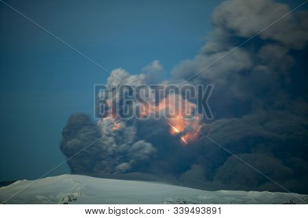 The 2010 Eruptions Of Eyjafjallajökull Were Volcanic Events At Eyjafjallajökull In Iceland Which, Al
