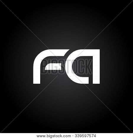Initial Fa Letter Linked Logo. Creative Letter Fa Modern Business Logo Vector Template. Fa Logo Desi