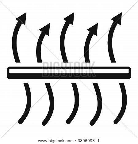 Breathable Membrane Icon. Simple Illustration Of Breathable Membrane Vector Icon For Web Design Isol