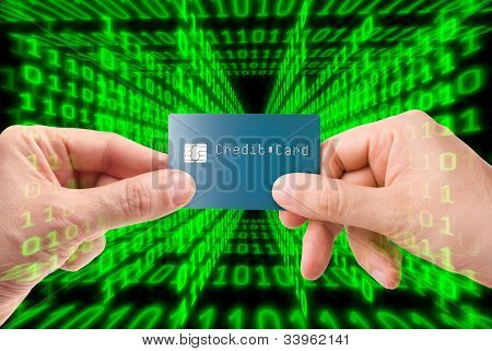 Credit card transaction on the web