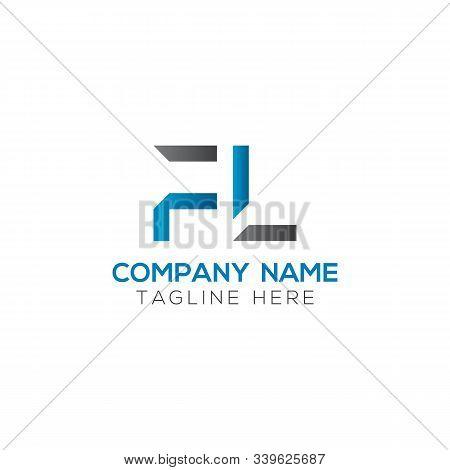 Initial Fl Letter Linked Logo. Creative Letter Fl Modern Business Logo Vector Template. Fl Logo Desi