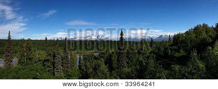 Denali viewpoint south, Highway 3, Talkeetna, Alaska