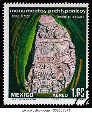 Mexico - Circa 1980: A Stamp Printed In Mexico From The