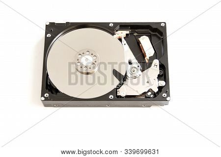 Hdd Hard Disk Drive Isolated On White Background