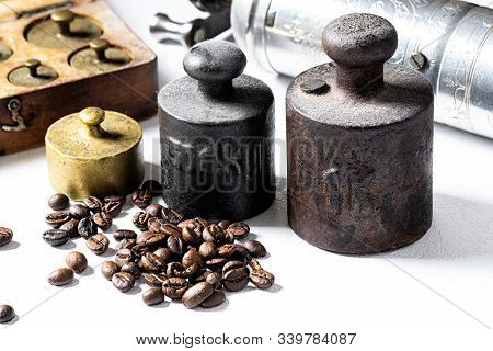 Old Rustic Weights