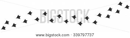 Footpath Trail Of Duck. Hunting Concept, Vector