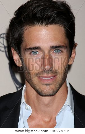 LOS ANGELES - JUN 14:  Brandon Beemer arrives at the ATAS Daytime Emmy Awards Nominees Reception at SLS Hotel At Beverly Hills on June 14, 2012 in Los Angeles, CA