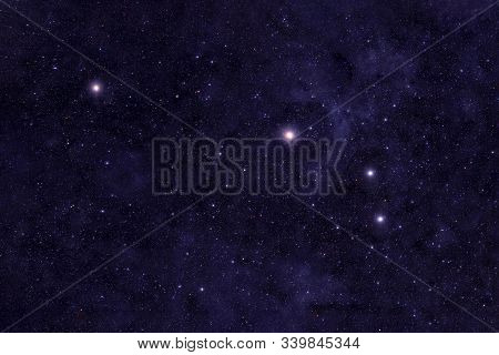 Aries Constellation. Against The Background Of The Night Sky. Elements Of This Image Were Furnished