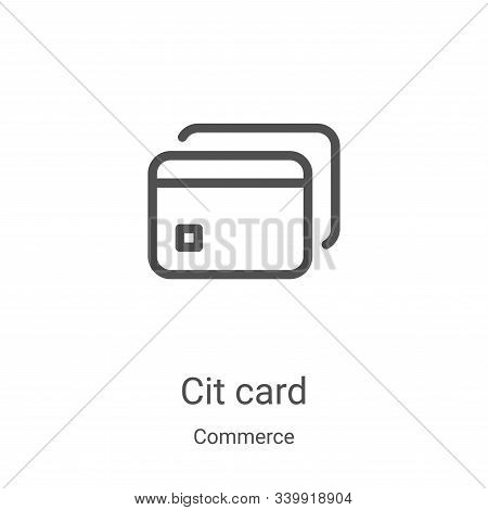credit card icon isolated on white background from commerce collection. credit card icon trendy and