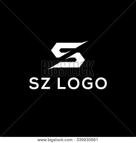 S And Z Logo Designs, Sz Letter Logo Inspirations, Initial Name Vector