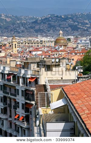 View Of Old Town Of Nice, France