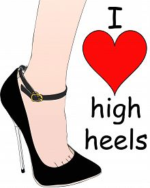I Love My High-heeled Shoes