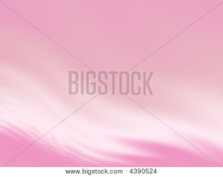 Abstract Wavy Background In Pink