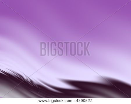 Abstract Wavy Background In Violet