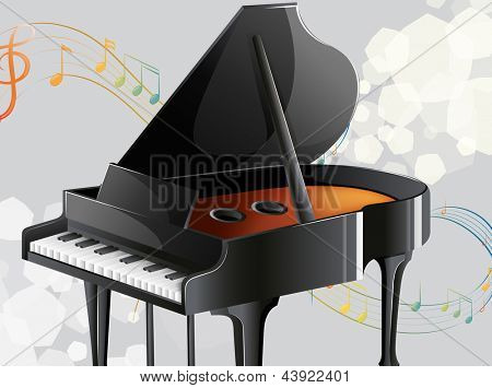 Illustration of a musical instrument