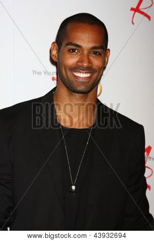 LOS ANGELES - MAR 26:  Lamon Archey attends the 40th Anniversary of the Young and the Restless Celebration at the CBS Television City on March 26, 2013 in Los Angeles, CA
