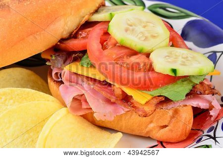 Blt With Cold Cuts