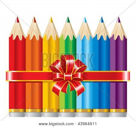 pencils with Ribbon