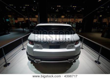 The Land Rover Lrx Concept