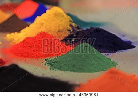 Colored Powder Coating