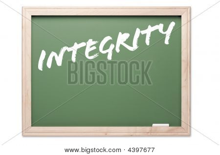 Chalkboard Series - Integrity