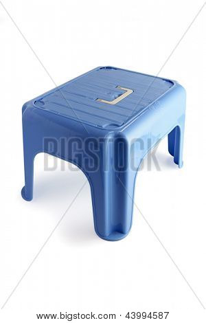 Plastic stool for children