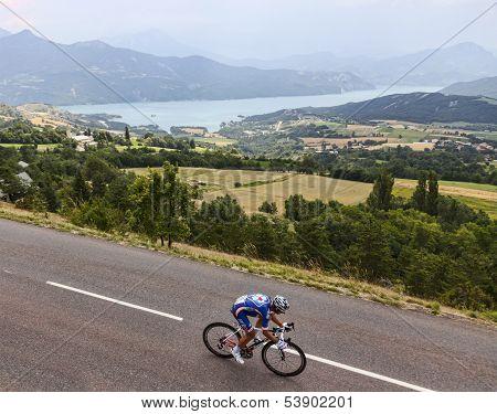 The Cyclist Pierrick Fedrigo