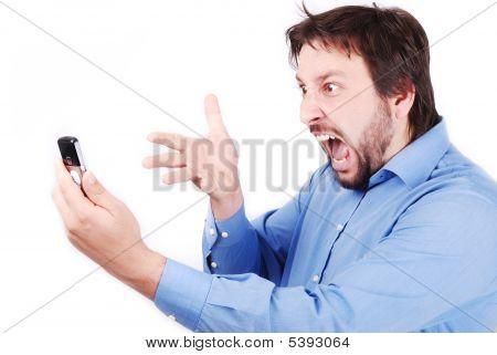 Yelling On Phone