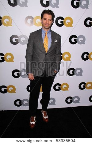 LOS ANGELES - NOV 12:  Matthew Morrison at the GQ 2013