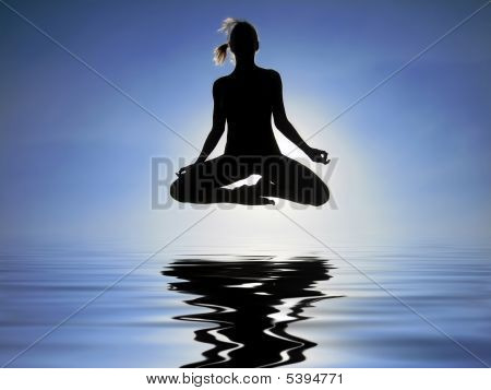 Levitation Over The Water