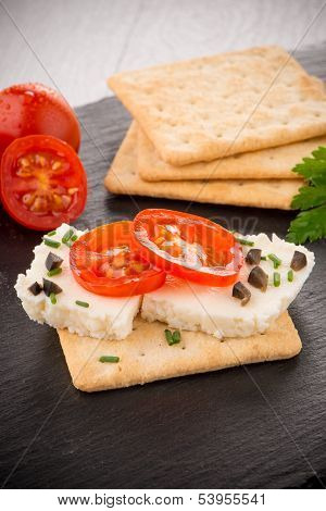 Crispbread With Fromage