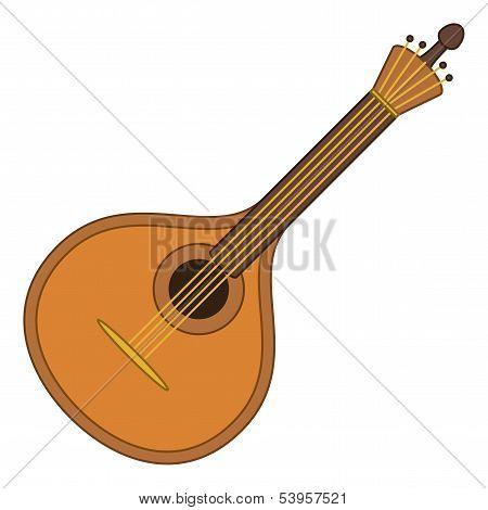 Musical instrument mandolin