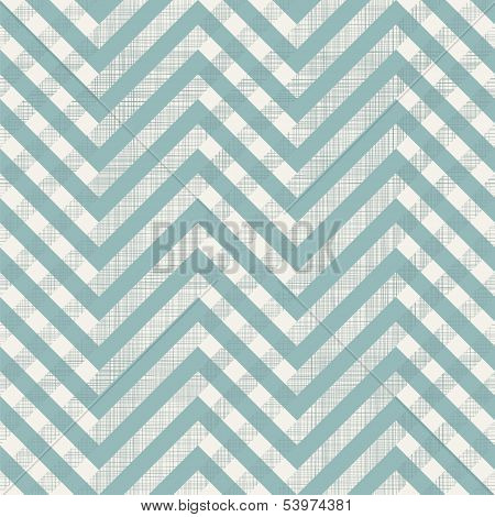 Retro Seamless Zigzag Pattern With Fabric Texture On