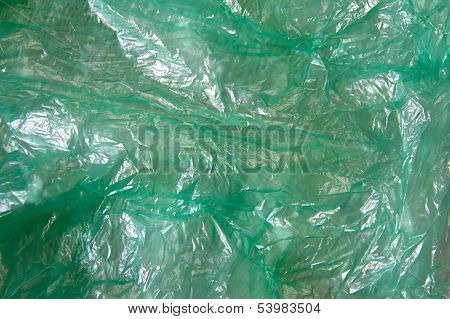 Green Plastic Structure Backround