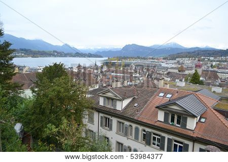View Of Lucerne.