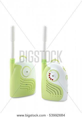 Babyphone isolated on white background