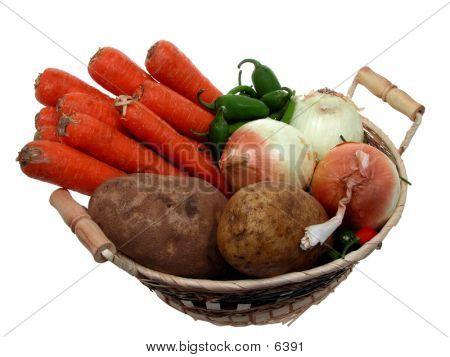 Basket Of Veggies