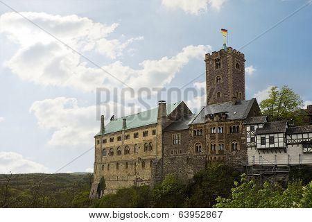 medieval Wartburg Castle in Eisenach, Germany