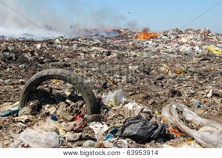 Pollution, dumping of garbage
