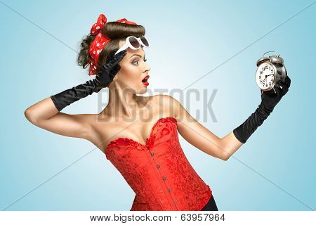 Glamourous Clockwork.
